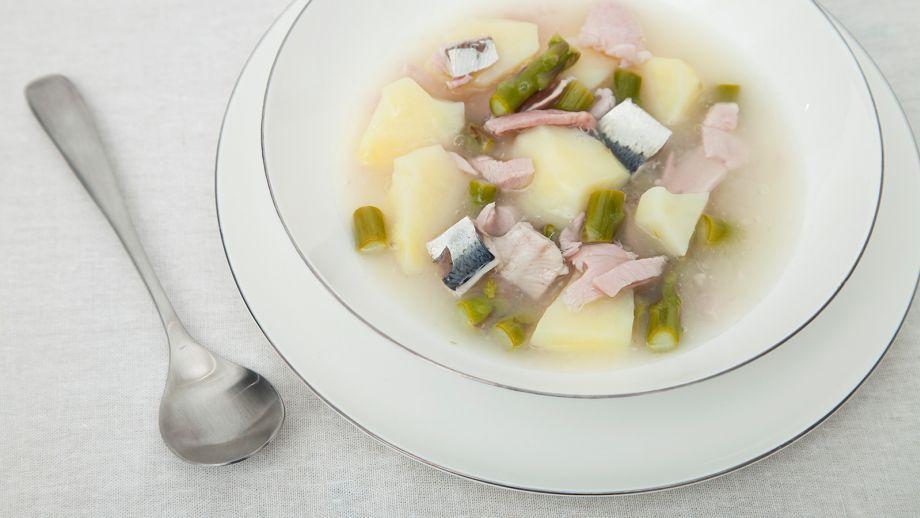 sardinas y paleta asada