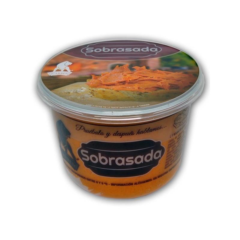 sobrasa, crema de sobrasada lista para untar, comprar sobrasada artesana, productos artesanos de la serrania de ronda
