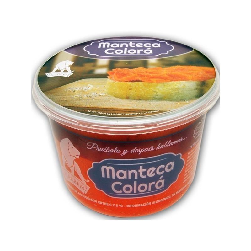 Manteca color malaga. Manteca colora. Manteca color de carz Manteca color para desayunos