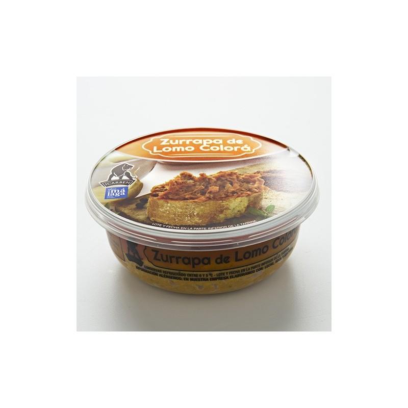 zurrapa de lomo de cerdo. comprar lomo de cerdo frito en manteca. Comprar manteca para desayunos. Productos de la serrania de ro